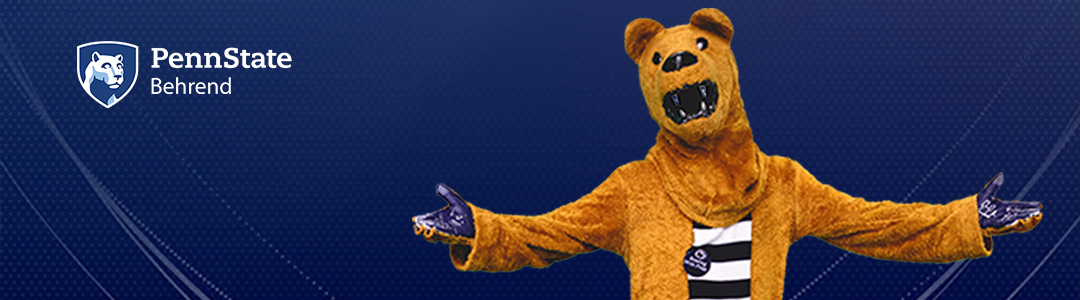 Penn State Behrend Virtual Visits - Nittany Lion Mascot