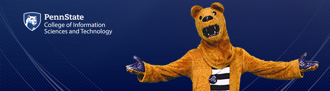 Penn State College of Information Sciences and Technology Virtual Visits - Nittany Lion Mascot