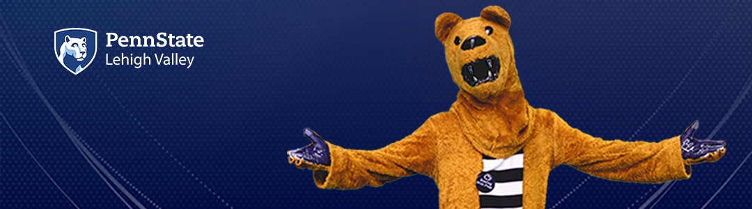 Penn State Lehigh Valley Virtual Visits - Nittany Lion Mascot