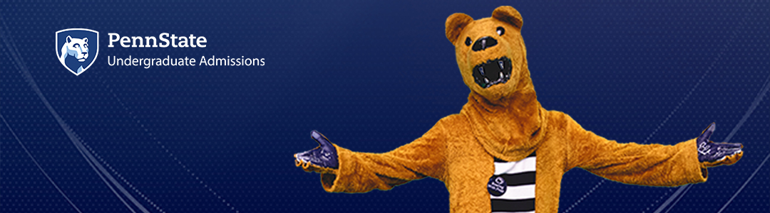 Penn State Admissions Virtual Visits - Nittany Lion Mascot